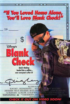 Blank Check - 27 x 40 Movie Poster - Style A
