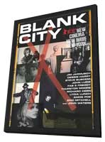 Blank City - 11 x 17 Movie Poster - Style A - in Deluxe Wood Frame