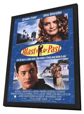 Blast from the Past - 11 x 17 Movie Poster - Style B - in Deluxe Wood Frame