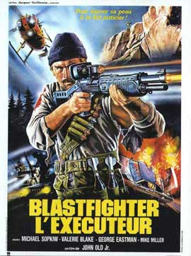 Blastfighter - 11 x 17 Movie Poster - French Style A