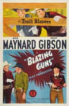 Blazing Guns - 27 x 40 Movie Poster - Style A