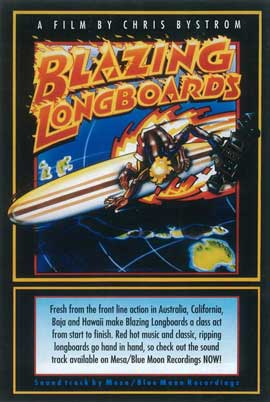 Blazing Longboards - 11 x 17 Movie Poster - Style A