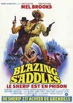 Blazing Saddles - 11 x 17 Poster - Foreign - Style A