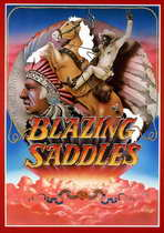 Blazing Saddles - 11 x 17 Movie Poster - Style A