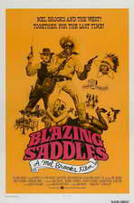 Blazing Saddles - 11 x 17 Movie Poster - Style E