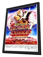 Blazing Saddles - 27 x 40 Movie Poster - Style A - in Deluxe Wood Frame