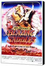 Blazing Saddles - 27 x 40 Movie Poster - Style A - Museum Wrapped Canvas