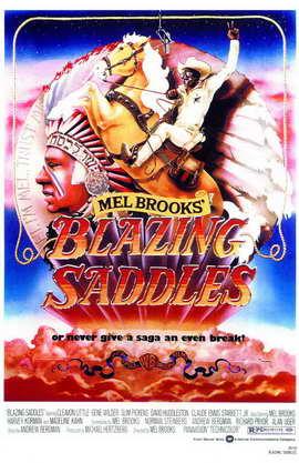Blazing Saddles - 11 x 17 Movie Poster - Style C