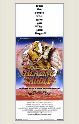 Blazing Saddles - 11 x 17 Movie Poster - Style B