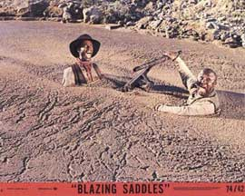 Blazing Saddles - 11 x 14 Movie Poster - Style C