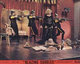 Blazing Saddles - 11 x 14 Movie Poster - Style D