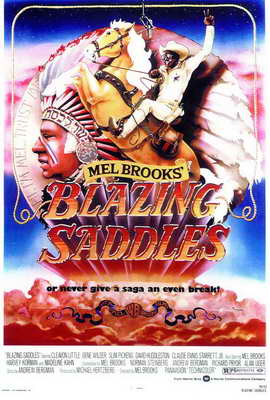 Blazing Saddles - 27 x 40 Movie Poster - Style A