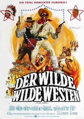 Blazing Saddles - 11 x 17 Movie Poster - German Style A