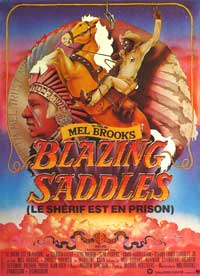 Blazing Saddles - 27 x 40 Movie Poster - French Style A