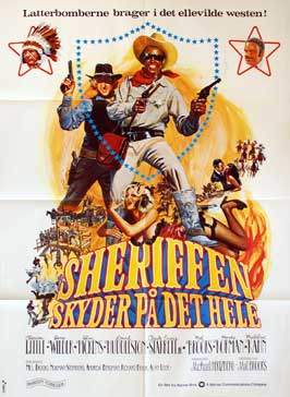 Blazing Saddles - 11 x 17 Movie Poster - Danish Style A