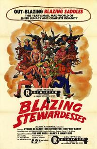 Blazing Stewardesses - 11 x 17 Movie Poster - Style A