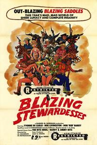 Blazing Stewardesses - 27 x 40 Movie Poster - Style A