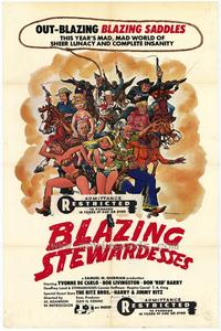 Blazing Stewardesses - 43 x 62 Movie Poster - Bus Shelter Style A