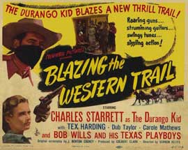 Blazing the Western Trail - 11 x 14 Movie Poster - Style C