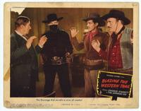Blazing the Western Trail - 11 x 14 Movie Poster - Style E