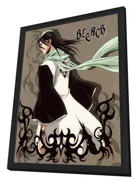 Bleach (TV) - 11 x 17 TV Poster - Japanese Style E - in Deluxe Wood Frame