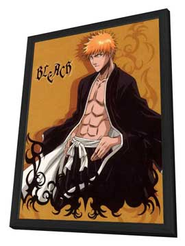 Bleach (TV) - 11 x 17 TV Poster - Japanese Style G - in Deluxe Wood Frame