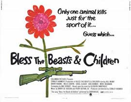 Bless the Beasts and Children - 11 x 14 Movie Poster - Style A