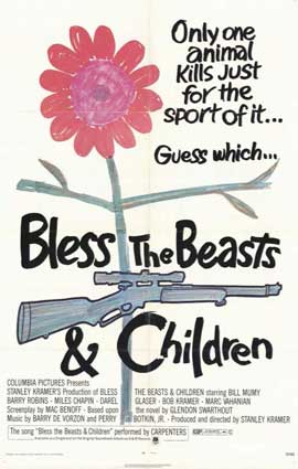 Bless the Beasts and Children - 11 x 17 Movie Poster - Style A