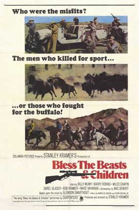 Bless the Beasts and Children - 11 x 17 Movie Poster - Style B