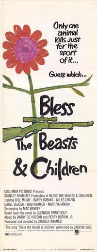 Bless the Beasts and Children - 14 x 36 Movie Poster - Insert Style A