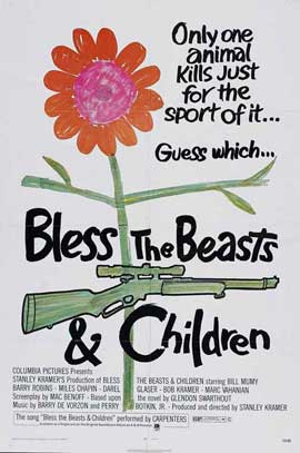 Bless the Beasts and Children - 27 x 40 Movie Poster - Style B