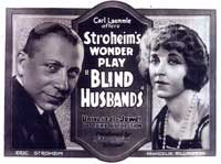 Blind Husbands - 11 x 17 Movie Poster - Style A