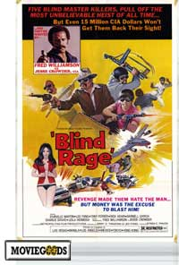 Blind Rage - 27 x 40 Movie Poster - Style A