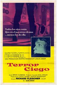 Blind Terror - 11 x 17 Movie Poster - Spanish Style A