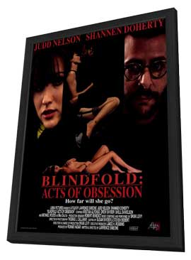 Blindfold: Acts of Obsession - 11 x 17 Movie Poster - Style A - in Deluxe Wood Frame