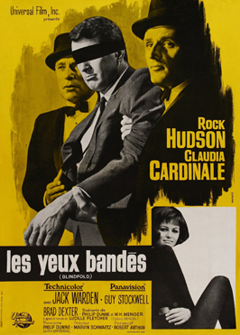 Blindfold - 27 x 40 Movie Poster - French Style A