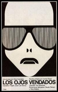 Blindfolded Eyes - 11 x 17 Movie Poster - Spanish Style A