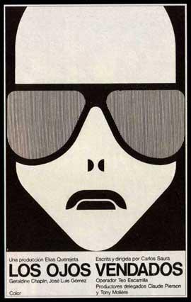 Blindfolded Eyes - 27 x 40 Movie Poster - Spanish Style A