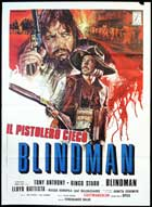 Blindman - 11 x 17 Movie Poster - Italian Style B