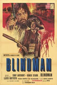 Blindman - 27 x 40 Movie Poster - Italian Style A