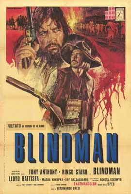 Blindman - 11 x 17 Movie Poster - Italian Style A