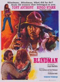 Blindman - 11 x 17 Movie Poster - Style B