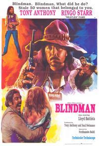 Blindman - 27 x 40 Movie Poster - Style B