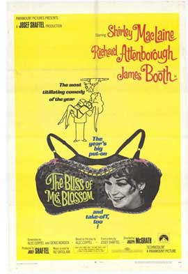 The Bliss of Mrs. Blossom - 11 x 17 Movie Poster - Style A