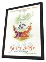 Blithe Spirit (Broadway) - 11 x 17 Poster - Style A - in Deluxe Wood Frame