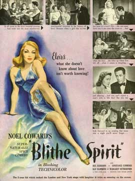 Blithe Spirit - 11 x 17 Movie Poster - Style A