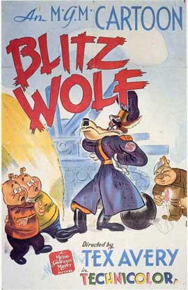 Blitz Wolf - 11 x 17 Movie Poster - Style A
