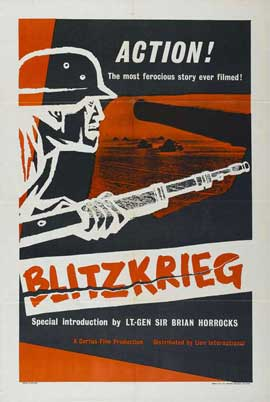 Blitzkrieg - 27 x 40 Movie Poster - Style A