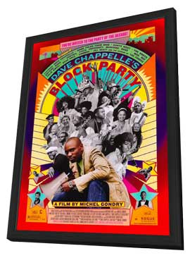 Block Party - 11 x 17 Movie Poster - Style A - in Deluxe Wood Frame