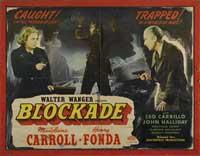 Blockade - 22 x 28 Movie Poster - Half Sheet Style A